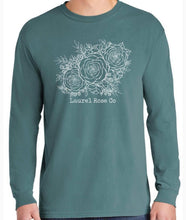 Load image into Gallery viewer, Three Roses Long Sleeve Tee