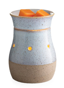 Rustic White Midsize Illumination Warmer