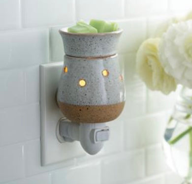 Rustic White - Pluggable Warmer