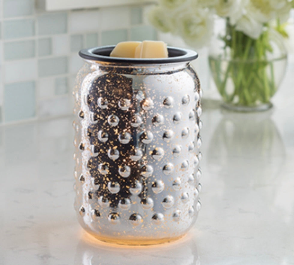 Mercury Glass Illumination Warmer