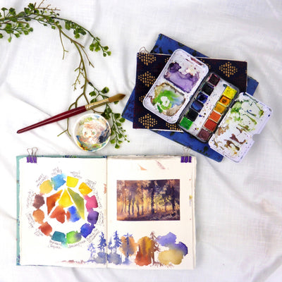 Create Your Own Color Palette With An Art Journal