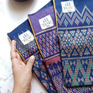 Thai Fabric Brush Rolls - LIMITED EDITION