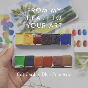 Blue Pine Arts Gift Card