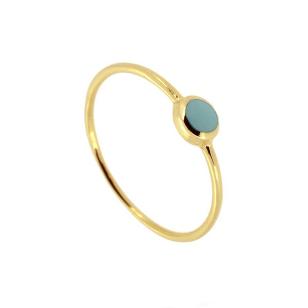 Anillo Creus Gold Blue
