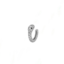 Upload image to gallery viewer, Earcuff Mini Snake Silver