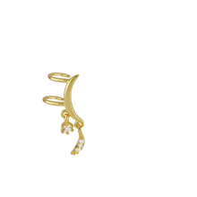 Upload Image to Gallery Viewer, Earcuff Moon Gold