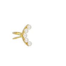 Upload Image to Gallery Viewer, Earcuff Pearl Gold