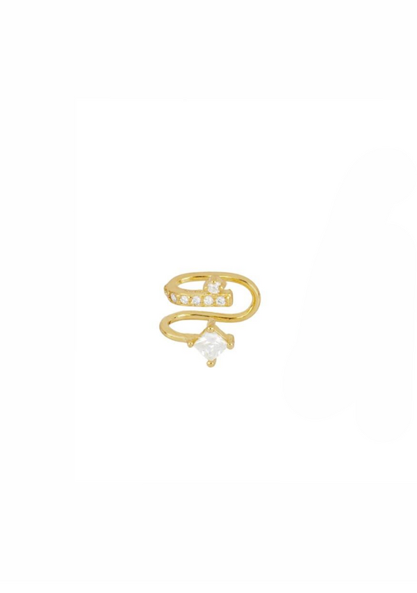 Earcuff Labyrinth Gold