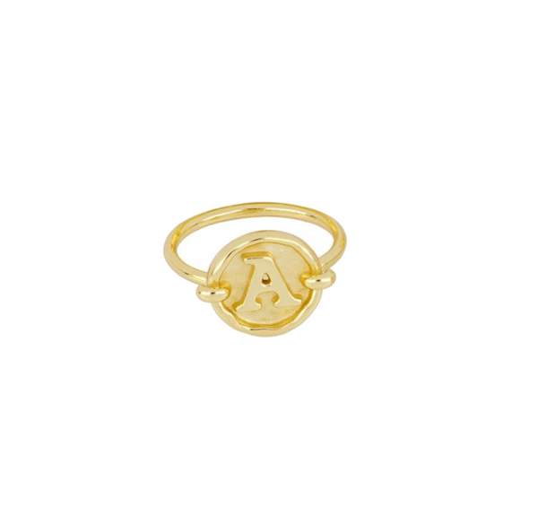 Anillo Stamp Gold