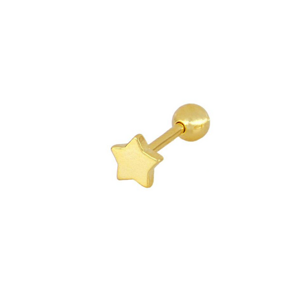 Piercing Mini Star Gold