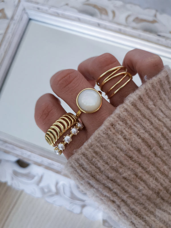 Anillo Janet Gold