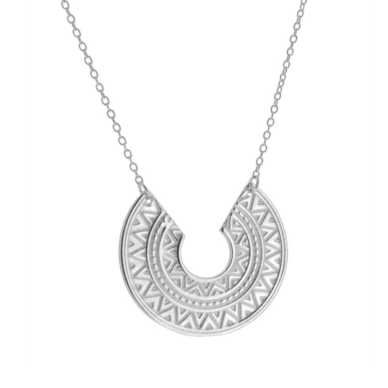 Asia Silver Necklace