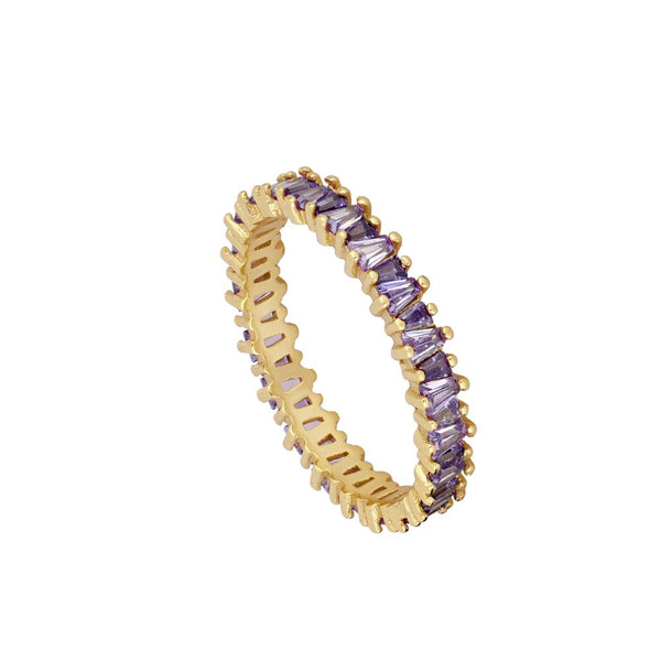 Anillo Bright Violet Gold