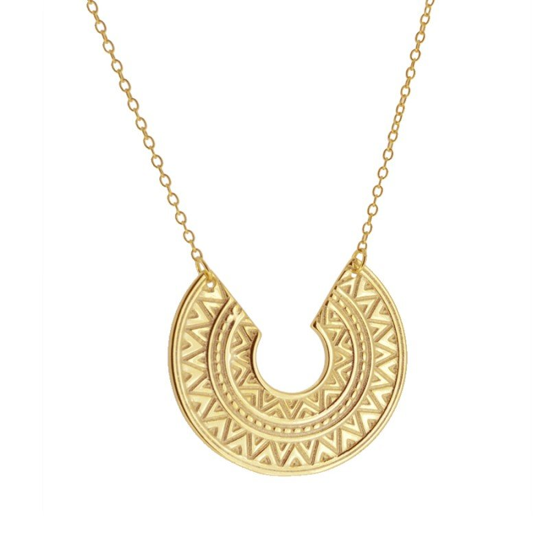Asia Gold Necklace