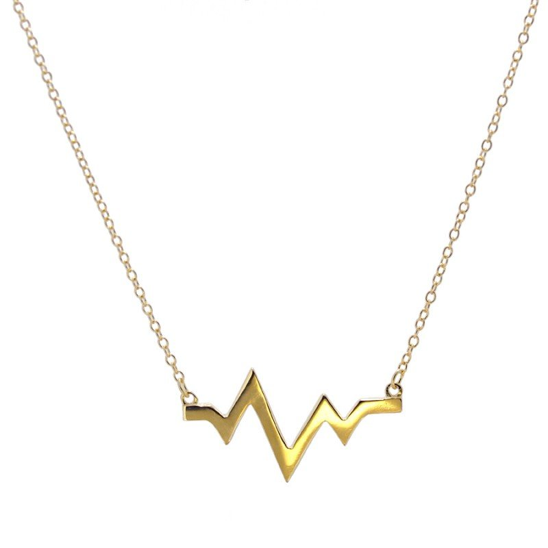 Collar Heartbeat Gold