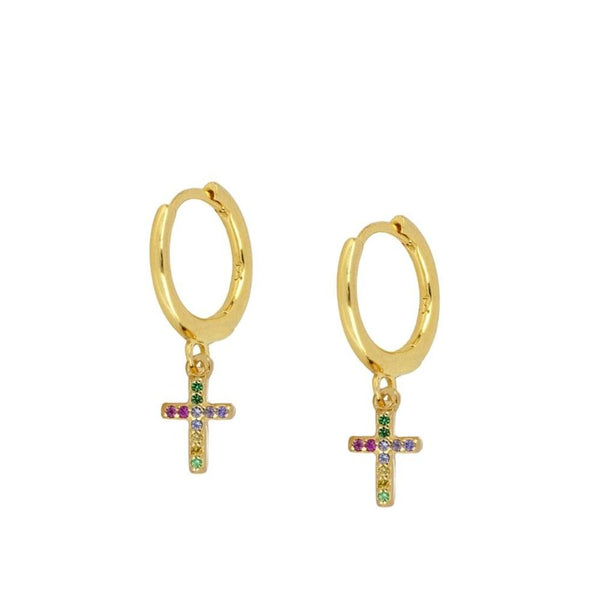 Pendientes Colours Glam Gold