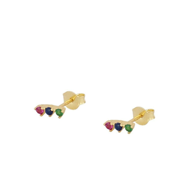 Pendientes Nord Colours Gold