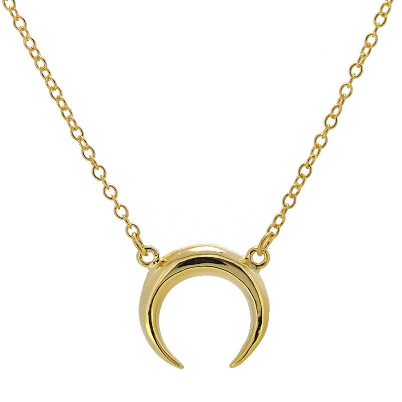 Moon Necklace Isis Gold