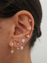 Upload image in the gallery viewer, Fiorella Gold earrings