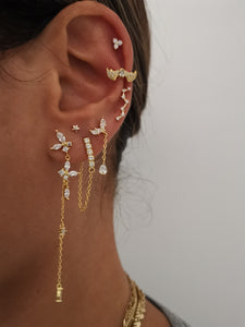 Brilliant Dolce Gold Earrings