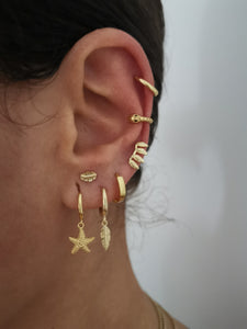 Sea Gold earrings