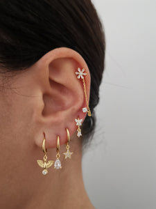 Naroa Gold earrings