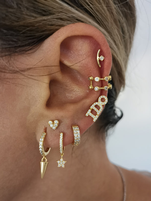 Pendientes I DO gold