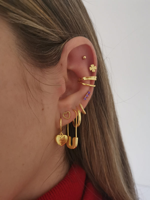 Pendientes Pin Gold