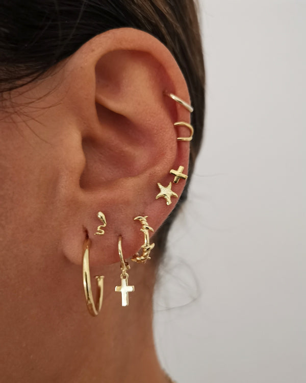 Earrings Cruz Gold