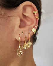 Upload image to the gallery viewer, Jaguar Gold Earrings