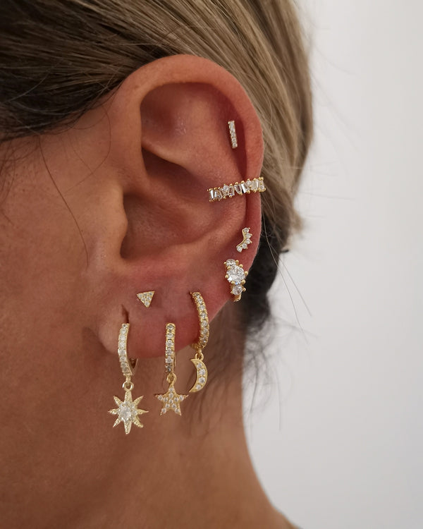 Earcuff Bright Gold