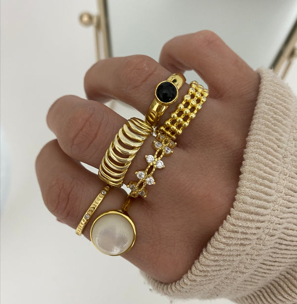 Anillo Claudie Gold