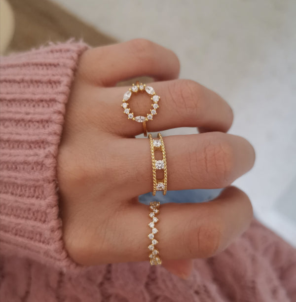 Anillo Sally Gold