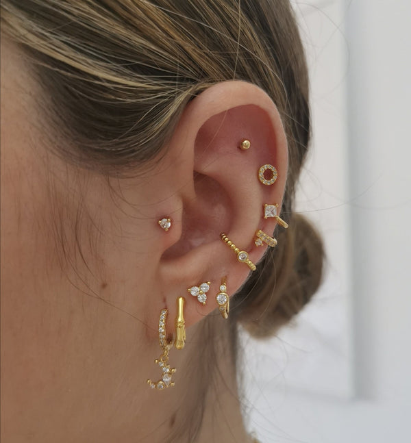 Piercing Anel Gold