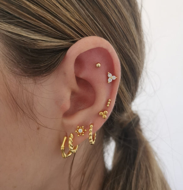 Piercing Mini Points Gold