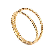 Upload image in the gallery viewer, Caye Gold Ring