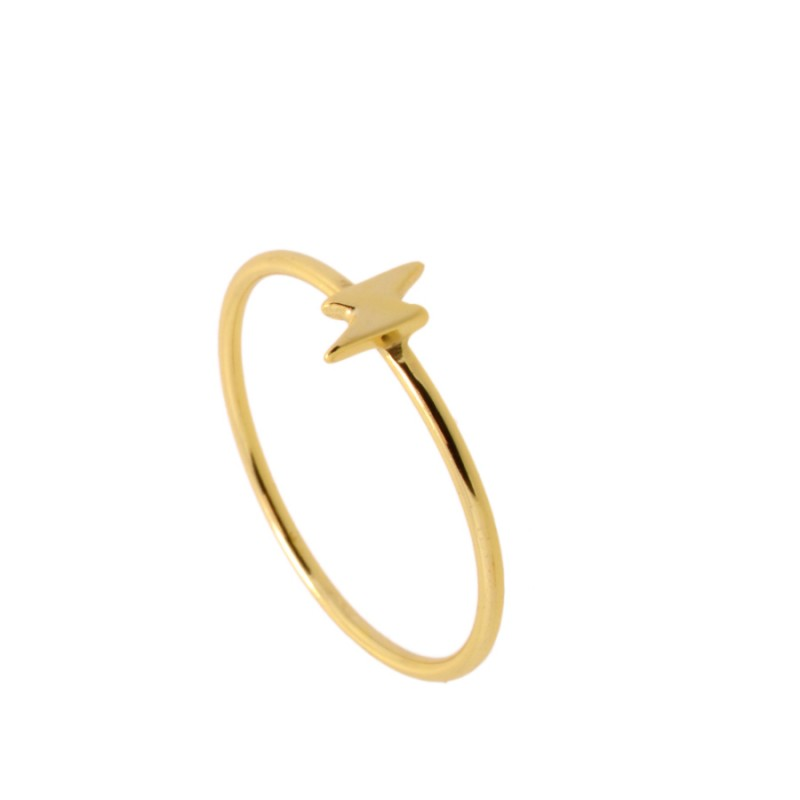 Gold Ray Ring