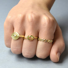 Upload image in the gallery viewer, Gold Nude Ring