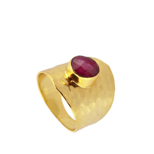 Oslo Pink Gold Ring