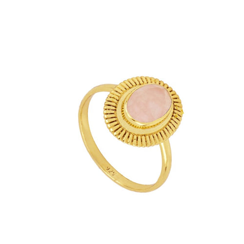 Rose Gold Bari Ring