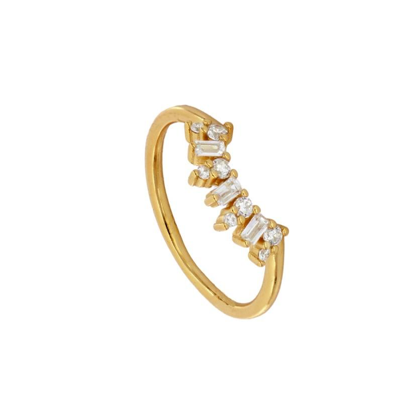 Anillo  Crown Gold