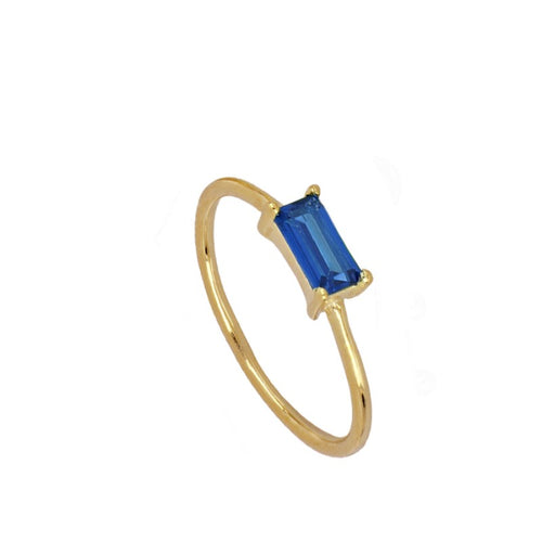 Úrsula Blue Gold ring