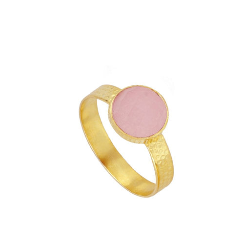 Julie Pink Gold Ring