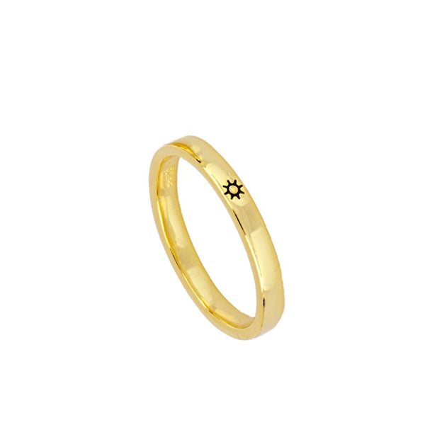 Anillo Basic Sun Gold