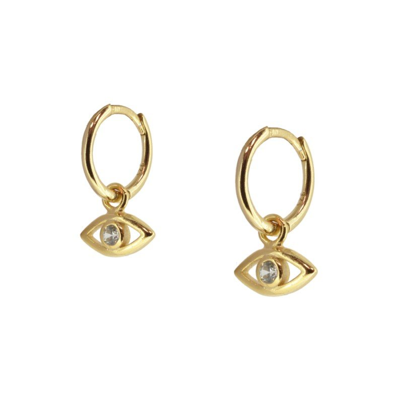 Pendientes Evan Eye Gold