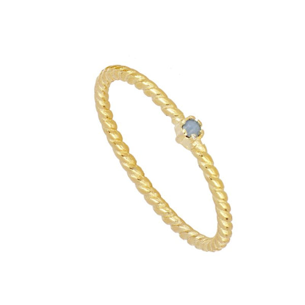 Anillo Alda Blue Gold