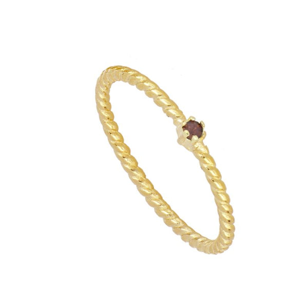 Anillo Alda Red Gold