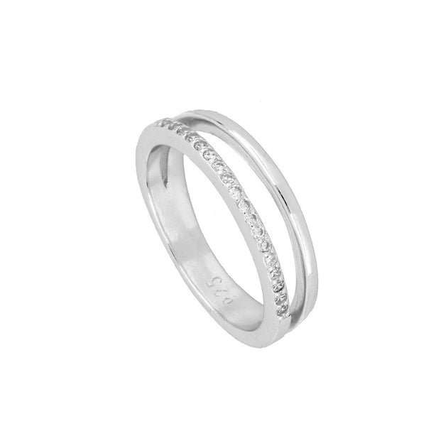 Anillo Abadie Silver