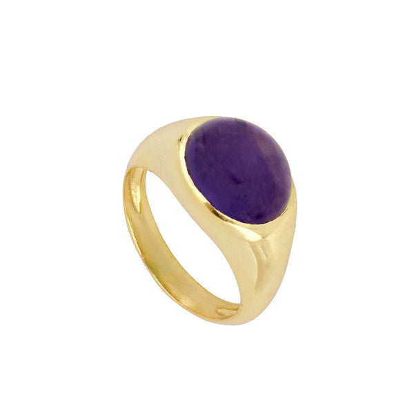 Anillo Ivy Violet Gold