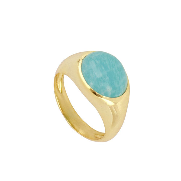 Anillo Ivy Blue Gold